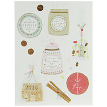 Buy John Lewis Christmas Jars Charity Christmas Cards, Pack of 6 Online at johnlewis.com