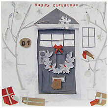 Buy John Lewis Christmas Door Charity Christmas Cards, Pack of 6 Online at johnlewis.com