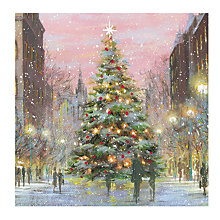 Buy Almanac City Tree Charity Christmas Cards, Pack of 8 Online at johnlewis.com