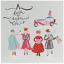Buy John Lewis Dash Of Cheer Charity Christmas Cards, Pack of 6 Online at johnlewis.com