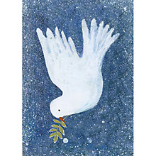Buy Museums And Galleries Dove With Mistletoe Charity Christmas Cards, Pack of 8 Online at johnlewis.com