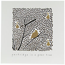 Buy Woodmansterne First Day Of Christmas Charity Christmas Cards, Pack of 5 Online at johnlewis.com