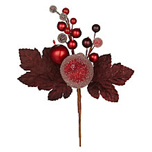 Buy John Lewis Frosted Berry Fruit Pick Online at johnlewis.com