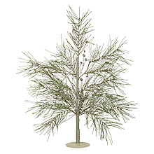 Buy John Lewis Snowshill Glitter Jewel 70cm Pine Tree Online at johnlewis.com
