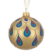 Buy John Lewis Shangri-La Droplet Bauble Online at johnlewis.com