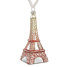 Buy John Lewis Ostravia Eiffel Tower Bauble Online at johnlewis.com