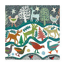 Buy Museum and Galleries Deep Frieze Charity Christmas Cards, Packof 8 Online at johnlewis.com