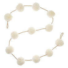 Buy John Lewis Chamonix Pompom Garland Online at johnlewis.com