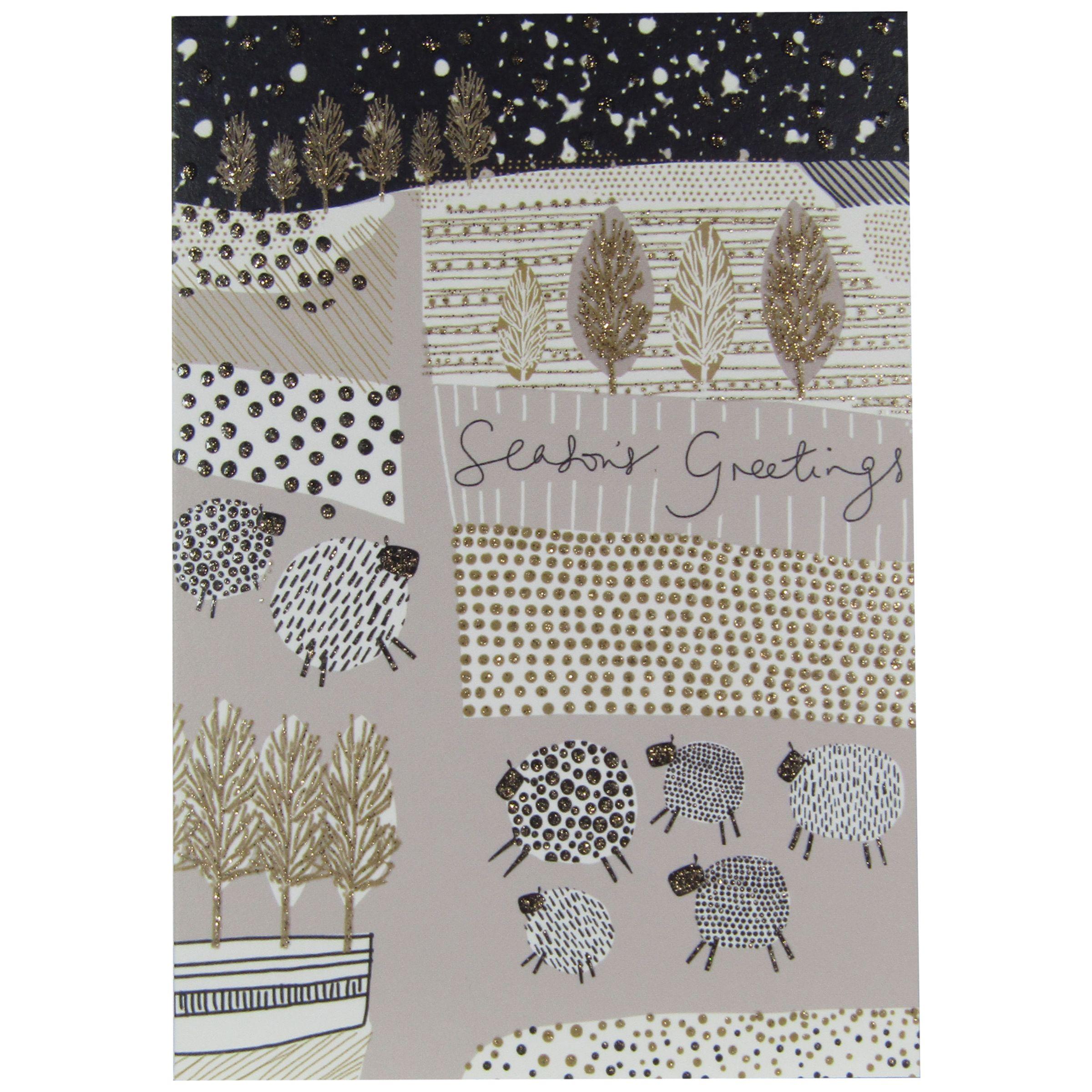 Woodmansterne Woodmansterne Fields Of Joy Charity Christmas Cards, Pack of 5