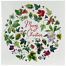 Buy Woodmansterne Festive Foliage Charity Christmas Cards, Pack of 5 Online at johnlewis.com