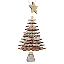Buy John Lewis Helsinki Flexi Tree Bauble Online at johnlewis.com