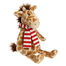 Buy Jellycat George Giraffe With Scarf Soft Toy Online at johnlewis.com