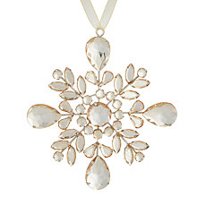 Buy John Lewis Ostravia Jewel Motif Tree Decoration Online at johnlewis.com