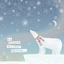Buy Art File I'm Dreaming of a White Christmas Charity Christmas Cards, Pack of 6 Online at johnlewis.com