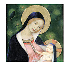 Buy Paperhouse Madonna Of The Fir Trees Charity Christmas Cards, Pack of 6 Online at johnlewis.com