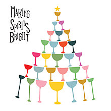 Buy Art File Making Spirits Bright Charity Christmas Cards, Pack of 6 Online at johnlewis.com
