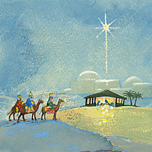 Buy Museums And Galleries Journey To Bethlehem Charity Christmas Cards, Pack of 8 Online at johnlewis.com