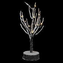 Buy John Lewis LED Snowy Mini Tree Online at johnlewis.com