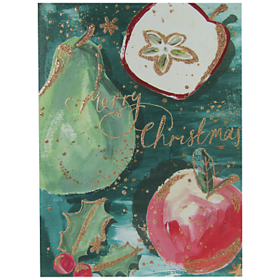 Product photo of John lewis merry christmas fruit charity christmas cards pack of 6