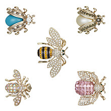 Buy Joanna Buchanan Ostravia Mini Bug Clip, Set of 5 Online at johnlewis.com