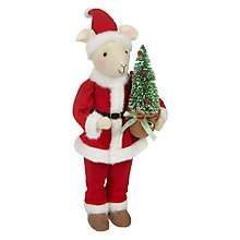 Buy John Lewis Grand Tour Mr Clause Mouse Decoration Online at johnlewis.com