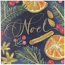Buy John Lewis Noel Fruit Charity Christmas Cards, Pack of 6 Online at johnlewis.com