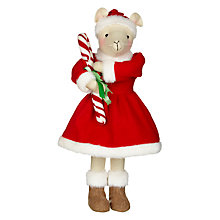 Buy John Lewis Grand Tour Mrs Clause Mouse Decoration Online at johnlewis.com