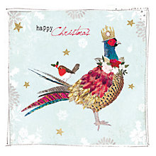 Buy Hammond Gower Pheasant In Crown Charity Christmas Cards, Pack of 5 Online at johnlewis.com