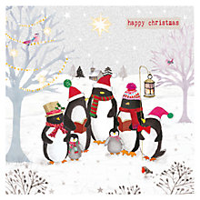 Buy Hammond Gower Penguins Carols Charity Christmas Cards, Pack of 5 Online at johnlewis.com
