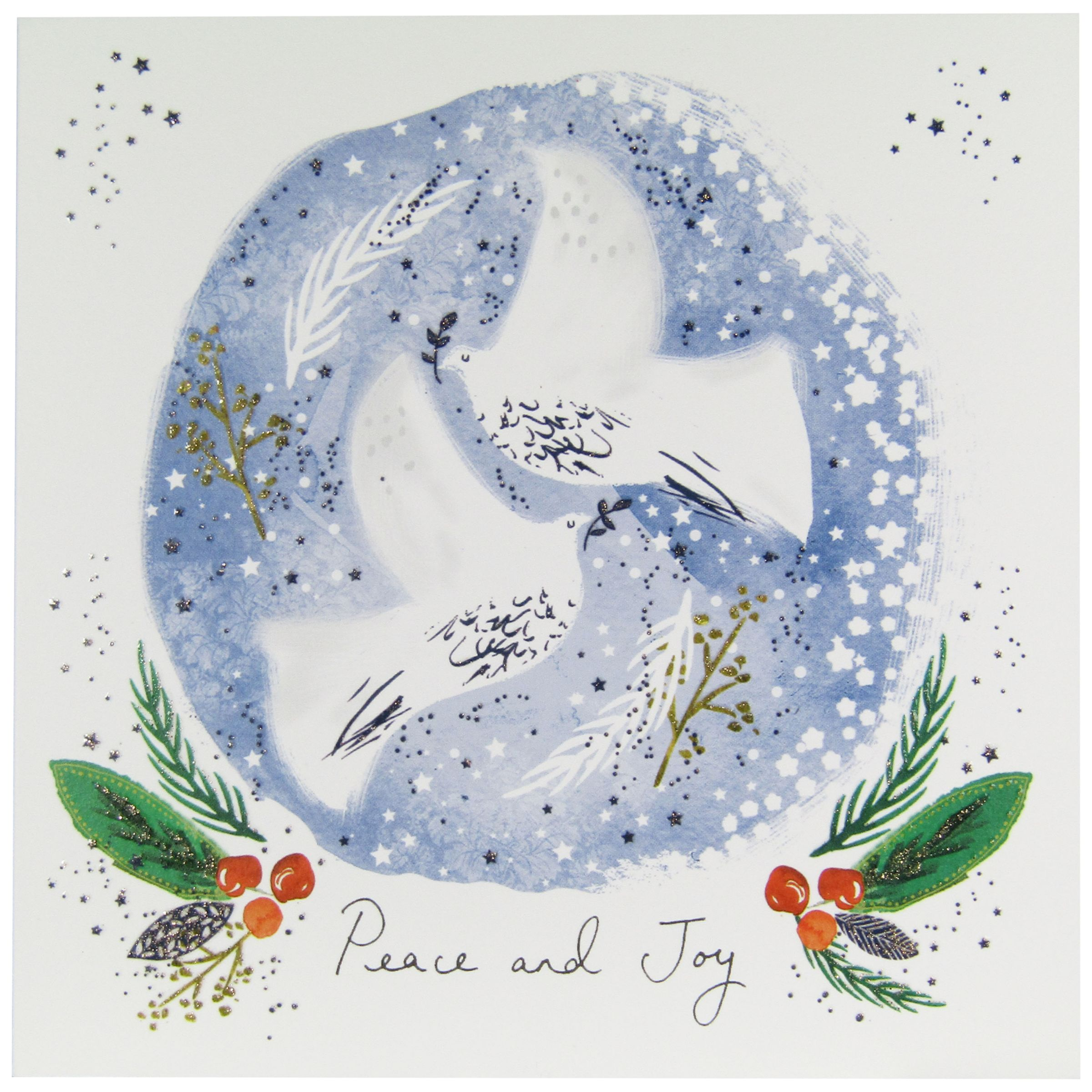 Woodmansterne Woodmansterne Peace On Earth Charity Christmas Cards, Pack of 5