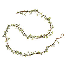 Buy John Lewis Snowshill Mini Frosted Ivy Garland Online at johnlewis.com