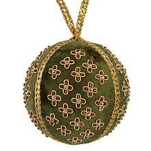 Buy Tinker Tailor Ruskin House Regal Bauble, Moss Green Online at johnlewis.com
