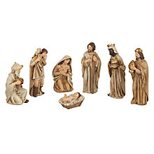 Buy John Lewis Nativity Characters, Set of 7 Online at johnlewis.com