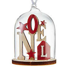 Buy John Lewis Chamonix Noel Dome Bauble Online at johnlewis.com
