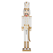 Buy John Lewis Ostravia Nutcracker, Cream / Gold Online at johnlewis.com