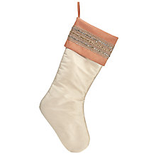Buy John Lewis Ostravia Silk Stocking, Cream Online at johnlewis.com