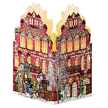Buy Coppenrath Nostalgic Christmas House Advent Card Lantern, 4 Assorted Designs Online at johnlewis.com