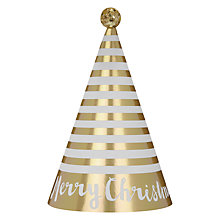 Buy John Lewis Paper Party Hats, Pack of 6 Online at johnlewis.com