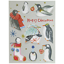 Buy John Lewis Penguins Charity Christmas Cards, Pack of 6 Online at johnlewis.com