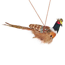 Buy John Lewis Ruskin House Pheasant Tree Decoration Online at johnlewis.com