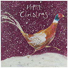 Buy John Lewis Pheasant Charity Christmas Cards, Pack of 6 Online at johnlewis.com