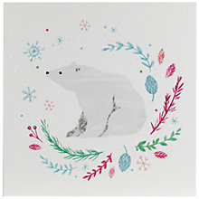 Buy John Lewis Polar Bear Charity Christmas Cards, Pack of 6 Online at johnlewis.com