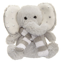 Buy Jellycat Poppet Elephant With Scarf Soft Toy Online at johnlewis.com
