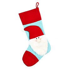 Buy John Lewis Grand Tour Santa-Head Stocking Online at johnlewis.com