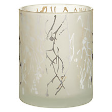 Buy John Lewis Snowshill Twig Tealight Holder, Silver Online at johnlewis.com