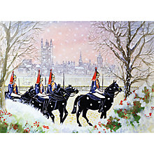Buy Museums And Galleries The Household Cavalry Charity Christmas Cards, Pack of 8 Online at johnlewis.com