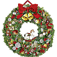 Buy Coppenrath Victorian Christmas Wreath Advent Calendar Online at johnlewis.com