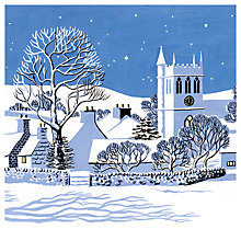 Buy Museums And Galleries Village In The Snow Charity Christmas Cards, Pack of 5 Online at johnlewis.com