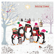 Buy Hammond Gower Welsh Penguin Gathering Charity Christmas Cards, Pack of 5 Online at johnlewis.com