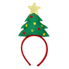 Buy John Lewis Christmas Tree Headband Online at johnlewis.com